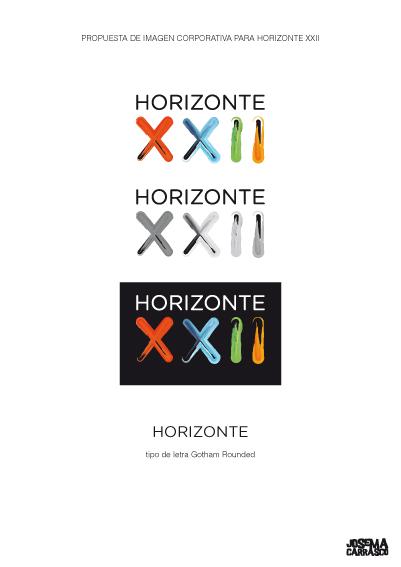 LOGO HORIZONTE XXII
