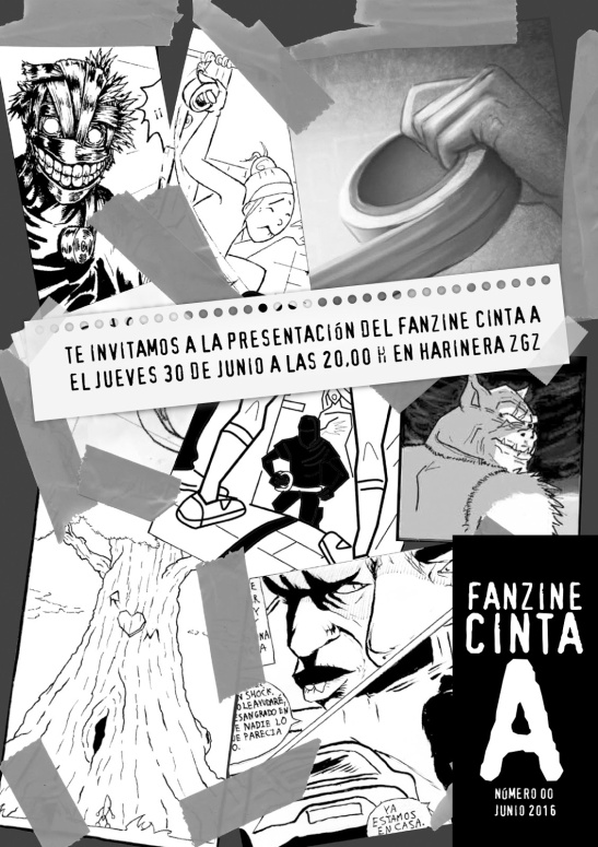 CARTEL FANZINE CINTA A DEF